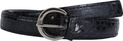 SRS Women Casual Black Synthetic Belt