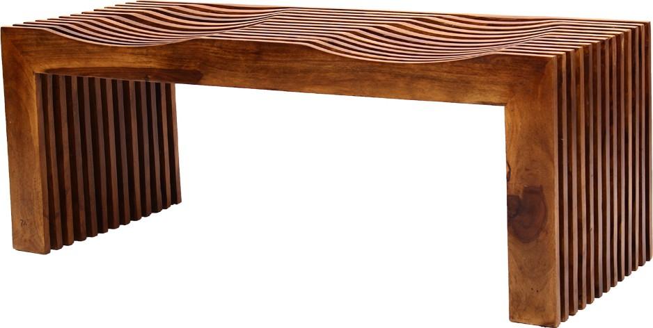 View Blueginger Solid Wood 3 Seater(Finish Color - Walnut Brown) Furniture (Blueginger)