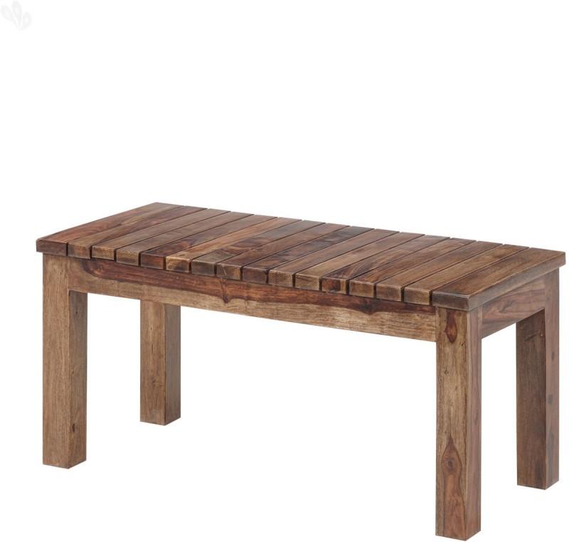 Jivan Solid Wood 2 Seater(Finish Color - Honey Brown)