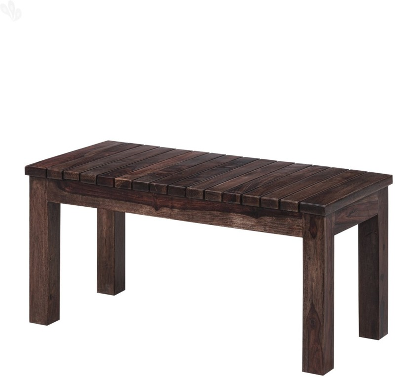 Jivan Solid Wood 2 Seater(Finish Color - Mahogany)