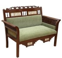 ExclusiveLane Teak Wood Solid Wood 2 Seater(Finish Color - Walnut)