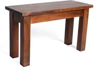 Jivan Solid Wood 2 Seater(Finish Color - Coffee Roast)