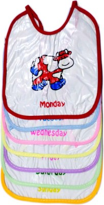 Blossoms Littles Feeding Baby Bibs 7 Weekdays