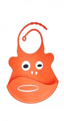 Coddle Coddle Baby Silicon Scoop Bib(Red)