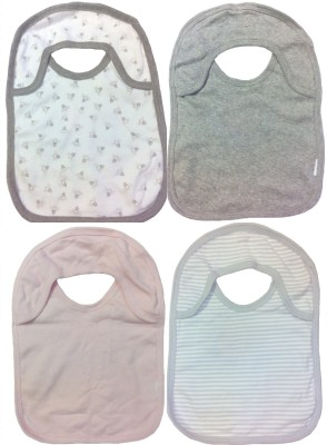 Sonpra Organic Soft Cotton Two Ply Baby Bibs