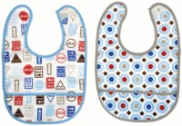 Mee Mee Cotton Bib(Light Blue)