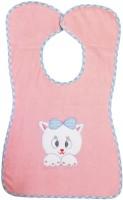 Rachna Button Closure Feeding Bib 04(Pink)