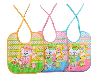 Littly Baby Bibs Combo, Pack of 3