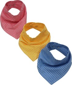 Wobbly Walk Bandana Bibs - pack of 3(Multi-color)