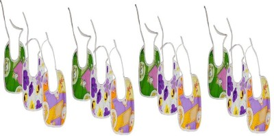 CHHOTE JANAB MULTICOLOUR BIBS COMBO (PACK OF 12)