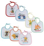Chhote Janab BABY BIBS 7 WEEKDAYS (WHITE...