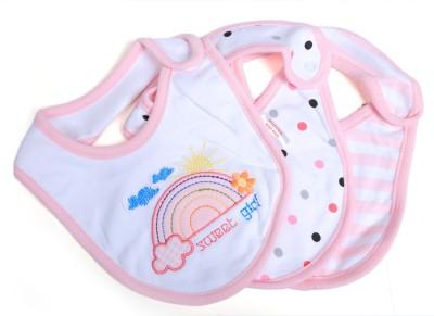 Baby Bucket Soft Cotton Baby Bibs Set of 3