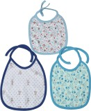 Kaboos Blue shades Feeding Bibs Combo (S...