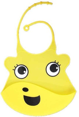 Coddle Coddle Baby Silicon Scoop Bib(Yellow)