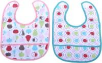 Mee Mee Twin Pack Bib(Blue, Pink)