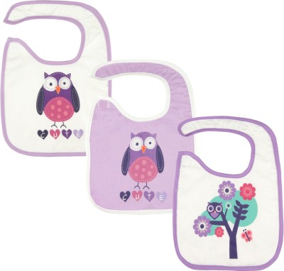 Hatchlingz Feeding Bib with Velcro(Multicolor)