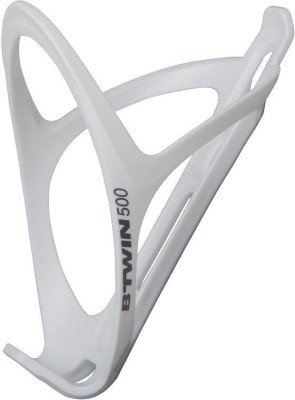 Btwin Cage 500 White Bicycle Bottle Holder