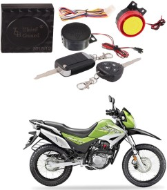 Auto Pearl One-way Bike Alarm Kit(Flashing Light 120 dB)