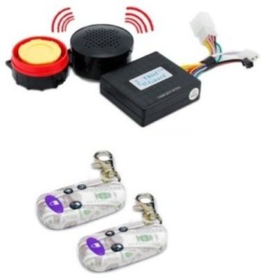 ACCESSOREEZ One-way Bike Alarm Kit(Siren, Flashing Light 125 dB)