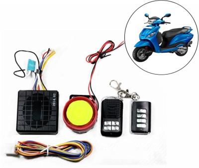 Capeshoppers Two-way Bike Alarm Kit(Flashing Light 125 dB)