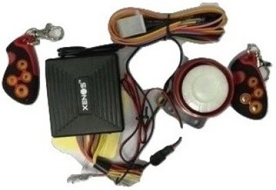 Xenos Two-way Bike Alarm Kit(Siren, Flashing Light 120 dB)