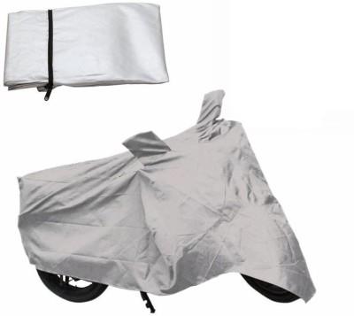 Gabbu Gabbu Two Wheeler Cover Silver Bike Bolt Covers