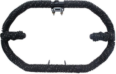 AutoStark Diamond Black Rope Safety Leg for Royal Enfield All Bike Bike Crash Guard(Royal Enfield)