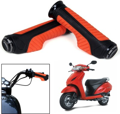 Capeshoppers CR000738 Bike Handle Grip For Honda Universal For Bike(Pack of 2)