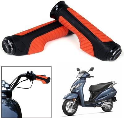 Capeshoppers CR000756 Bike Handle Grip For Honda Universal For Bike(Pack of 2)