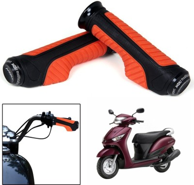 Capeshoppers CR000755 Bike Handle Grip For Yamaha Universal For Bike(Pack of 2)
