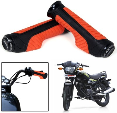 Capeshoppers CR000867 Bike Handle Grip For TVS Universal For Bike(Pack of 2)