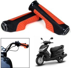 Capeshoppers CR000748 Bike Handle Grip For Yamaha Universal For Bike(Pack of 2)