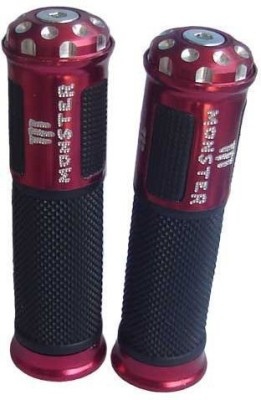 Xtremeonlinestore RED102 Bike Handle Grip For Mahindra Flyte