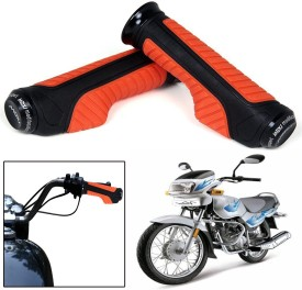 Capeshoppers CR000854 Bike Handle Grip For TVS Universal For Bike(Pack of 2)