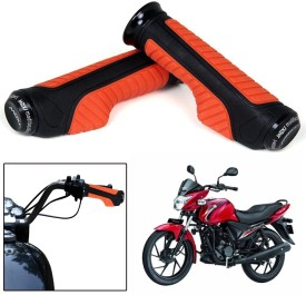 Capeshoppers CR000850 Bike Handle Grip For Suzuki Universal For Bike(Pack of 2)