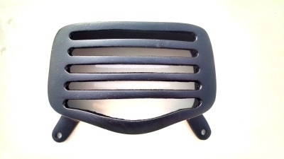 HMRA Power Matte Black Royal Enfield Standard Rear Brake Light Grill Bike Headlight Grill