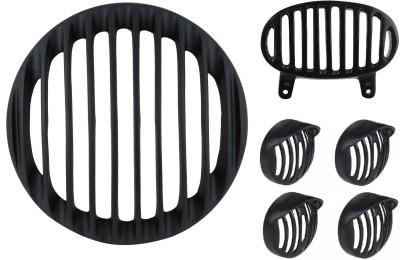 Bikers World 2802 HeadLight Tail Light Indicator Grill Headlight Frame Support(Bajaj 2015)