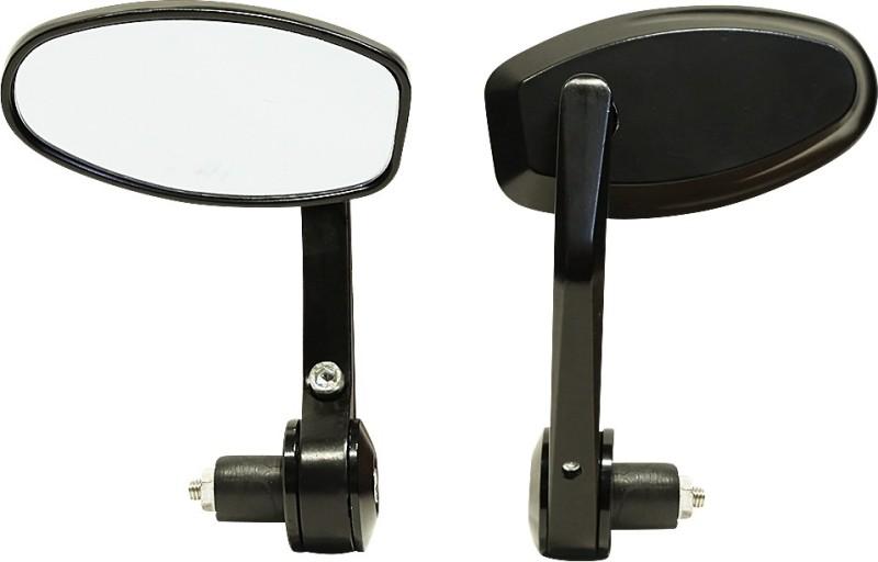 Speedwav Manual Rear View Mirror For Bajaj Pulsar 150 DTS-i(Exterior)