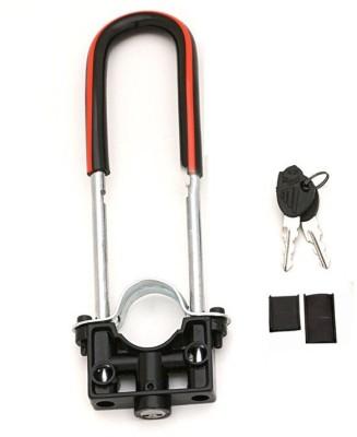 AutoStark Bike Front shocker- Bajaj Platina BSWL-152 Wheel Lock