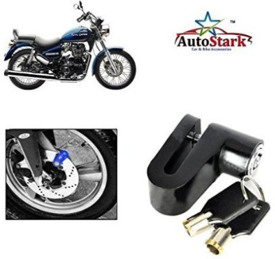 AutoStark Heavy Metal Break Security- Royal Enfield Classic 350 DSK02 Disc Lock