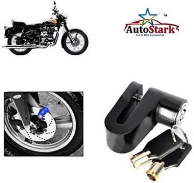 AutoStark Heavy Metal Break Security- Royal Enfield 500 Twinspark DSK33 Disc Lock