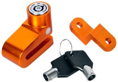 AutoKraftZ Premium Disc Brake Lock Alloy For Bajaj Platina 100 discbrakelock13 Disc Lock