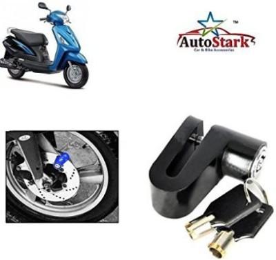 AutoStark Heavy Metal Break Security- Honda Passion Pro DSK13 Disc Lock