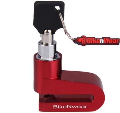 BikeNwear Motorcycle/Bike DBL-4 Disc Lock
