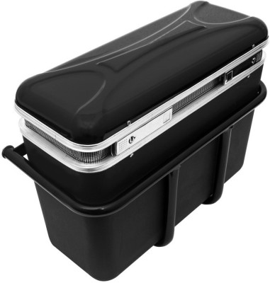 Speedwav 178043 Bike Luggage Box(Black)