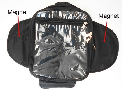 KASCN TANK BAG WITH MAGNET FOR ROYAL ENFILED FOR ALL MOTERBIKES Bike Luggage Box