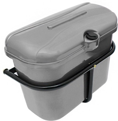 Motopart A0018 Bike Luggage Box(Silver)