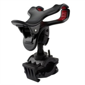 AdroitZ Premium Bike Mobile Holder Black For Bajaj Pulsar 220F Bike Mobile Holder