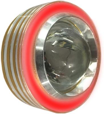 Vheelocityin COB Ring Motorcycle / Bike / Scooter Projector Head Lamp LED Light Red Ring For Bajaj Ninja 650R Projector Lens