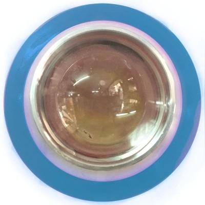 Vheelocityin Reflector Motorcycle / Bike / Scooter Projector Head Lamp LED Light Blue Ring For Yamaha Fz-Fi Projector Lens